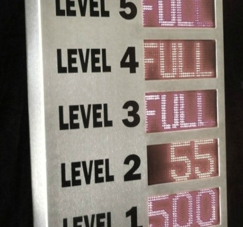 Level Count Display System